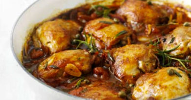 Fresh rosemary chicken recipe